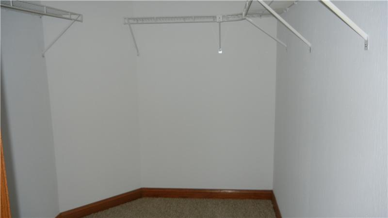 and large walk in closet