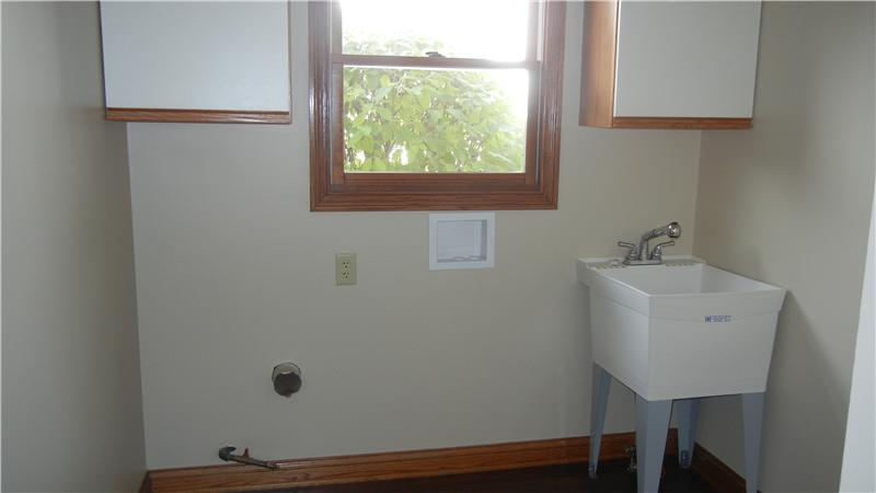 laundry room will include brand new washer and dryer