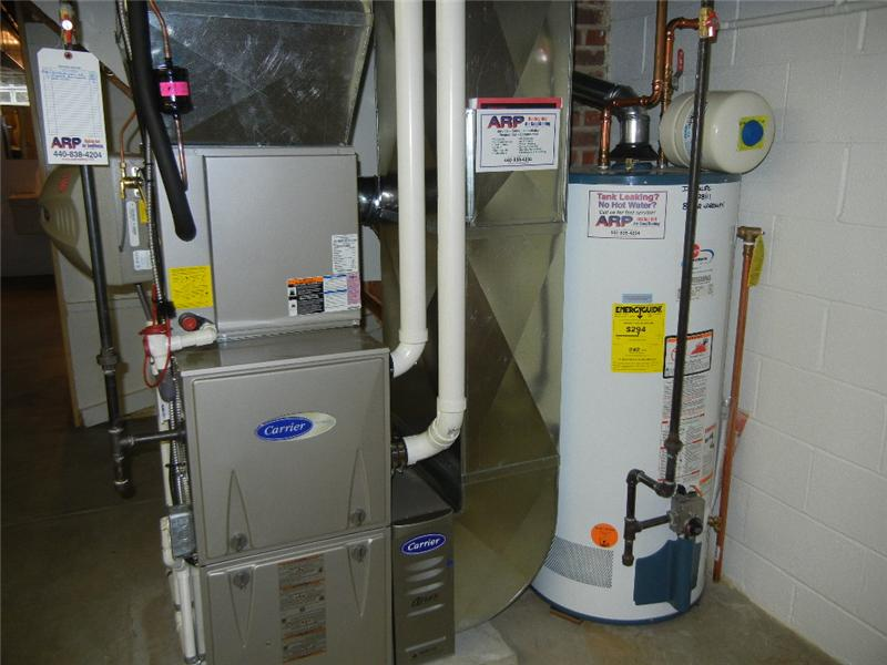 Brand new in April of 2014!! High end Carrier furnace, A/C and humidifier! Water tank new in Dec. of 2011!