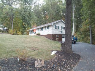 Situated on .89 acre lot